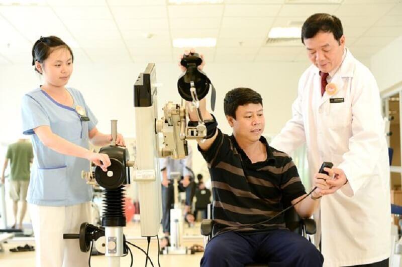Khoa phục hồi chức năng đóng vai trò quan trọng tại Đa khoa Phương Nam