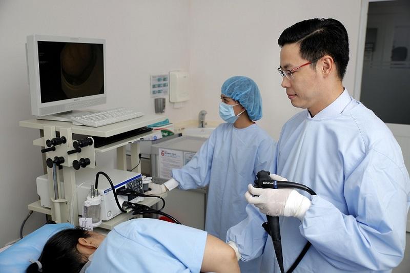 Phương pháp nội soi đại trạng không gây mê ở bệnh nhân