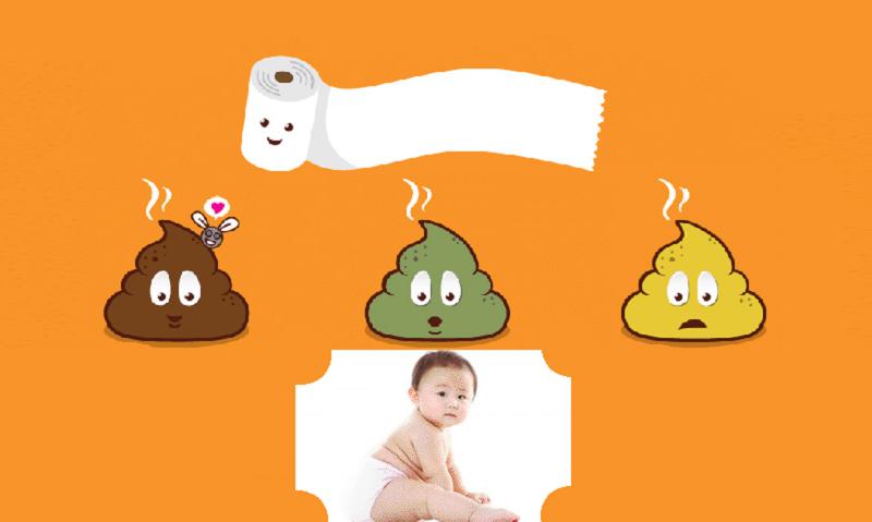 nhận diện phân bình thường của trẻ sơ sinh