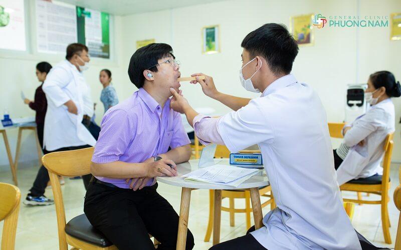 Đa khoa Phương Nam – Địa chỉ thăm khám và điều trị viêm amidan uy tín