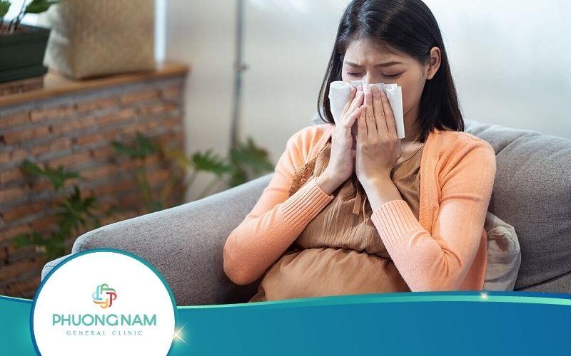 Bà Bầu Bị Cảm Cúm 3 Tháng Cuối Có Nguy Hiểm Không?