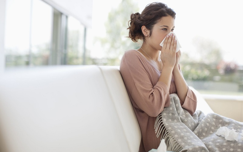 Bà bầu bị cảm cúm 3 tháng đầu -1