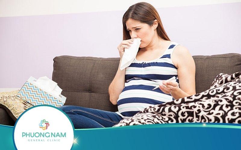 Bà Bầu Bị Cảm Cúm Tháng Thứ 4 Phải Làm Sao?