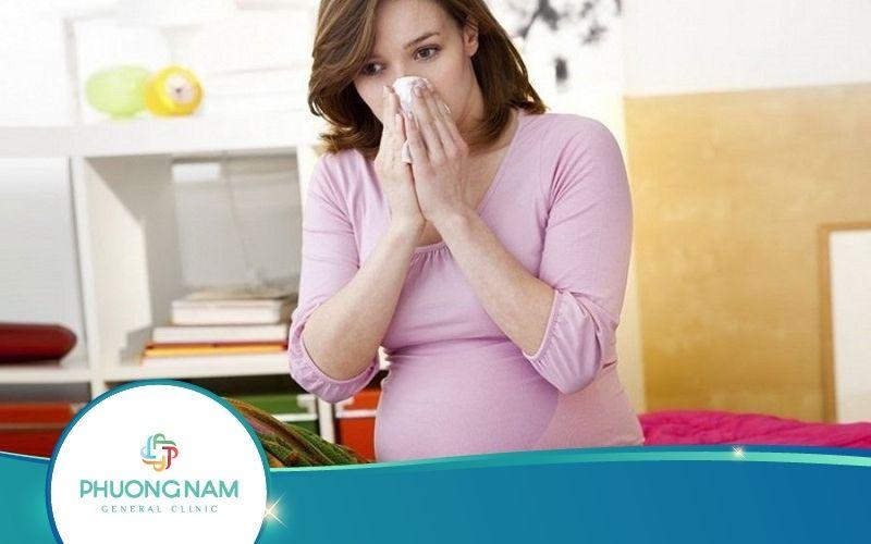 Bà Bầu Bị Cảm Cúm Tháng Thứ 8 – Nguy Hiểm Khó Lường