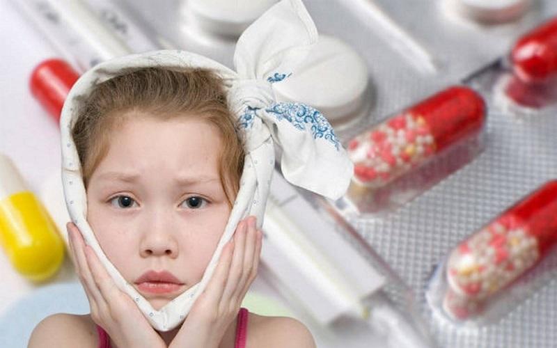 Cách điều trị bệnh quai bị ở trẻ em